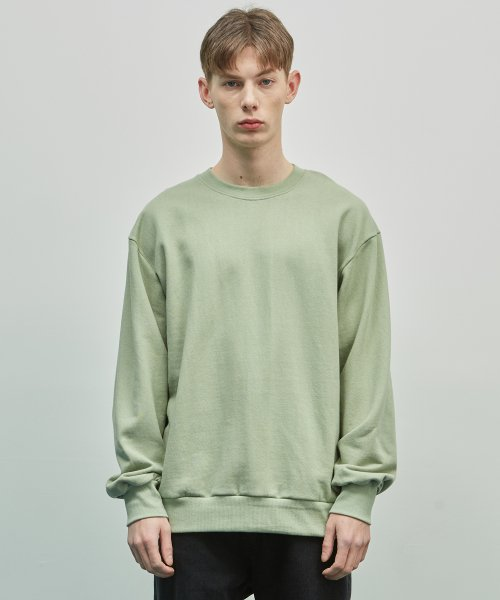 더스토리(THESTORI) 19SS STANDARD SWEATSHIRT (PALE MINT)
