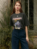 레이브(RAIVE) Vintage Washing Print Tee (2 Color)_VW0SE0950