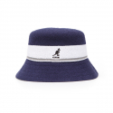 캉골(KANGOL) Bermuda Stripe Bucket 3326 NAVY