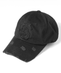 어반스터프(URBANSTOFF) USF Destroyed Ball Cap Black