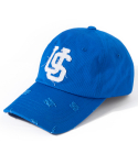 어반스터프(URBANSTOFF) USF Destroyed Ball Cap Blue