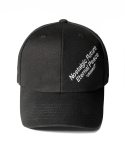 어반스터프(URBANSTOFF) USF Slogan Ball Cap Black