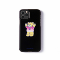 어피스오브케이크(APOC) CD Bear Phone Case_Black