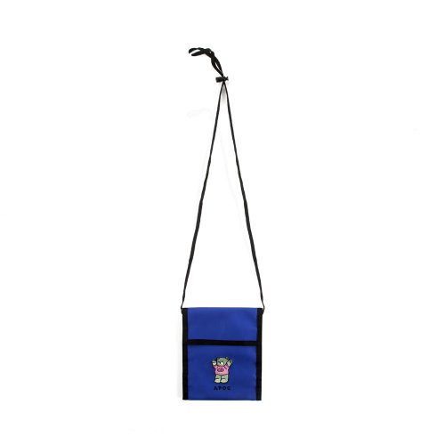 어피스오브케이크(APOC) CD Bear Neck Pouch_Blue