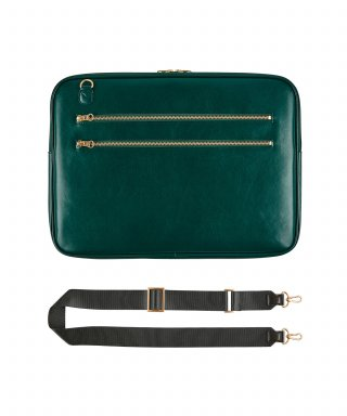 테이블토크(TABLETALK) SLIM·WIDE NOTEBOOK BAG 15_Green