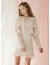 모어댄라이크(MORE THAN LIKE) FRILL RIBBON DRESS - IVORY