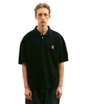 LIFUL X M.NII TERRY POLO SHIRT black