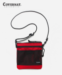커버낫(COVERNAT) NYLON SACOCHE BAG RED