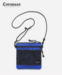 커버낫(COVERNAT) NYLON SACOCHE BAG BLUE