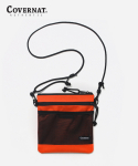 커버낫(COVERNAT) NYLON SACOCHE BAG ORANGE