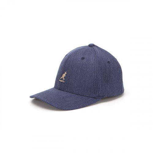 캉골(KANGOL) Wool Flexfit Baseball 8650 DENIM