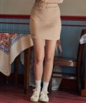 러브이즈트루() DE SET SKIRT(BEIGE)