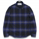 디아프바인() DV. LOT572 PLAID CHECK SHIRTS -BLUE-