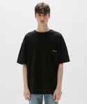 플랙() MENS OVERSIZED POCKET T-SHIRTSBK (PWON2RSL49M0C1)