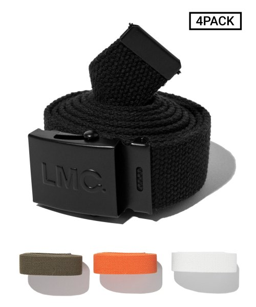 엘엠씨(LMC) [4PACK] LMC ARMY BELT matt black