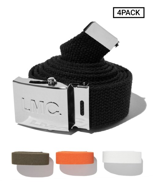 엘엠씨(LMC) [4PACK] LMC ARMY BELT chrome