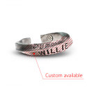 윌리앤더피(WILLIE and DUFFY) Custom Stamp Ring (Twist ver.) (실버925) (핸드메이드)
