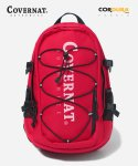 커버낫(COVERNAT) CORDURA AUTHENTIC LOGO RUCK SACK RED