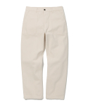 유니폼브릿지(UNIFORM BRIDGE) cotton fatigue pants regular fit natural