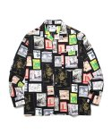 마크 곤잘레스(MARK GONZALES) M/G GRAPHIC SHIRT MULTI