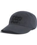 디스이즈네버댓(THISISNEVERTHAT) 3Line-Logo Camp Cap Anthracite