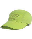디스이즈네버댓(THISISNEVERTHAT) 3Line-Logo Camp Cap Lime Green