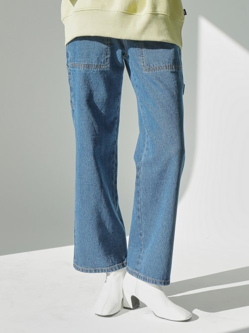 느와(NOIR) Work Denim Pants