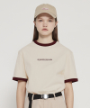 MG9S COLORING LABEL TEE (IVORY)
