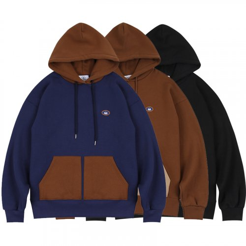 논앤논(NON AND NON) Logo Hood SET
