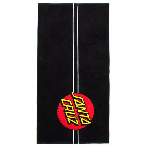 산타크루즈(SANTA CRUZ) Classic Dot Towel - Black