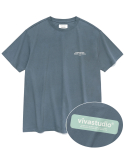 비바스튜디오(VIVASTUDIO) BOX LOGO SHORT SLEEVE JS [COOL GREY]
