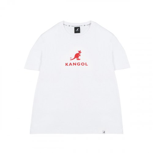 캉골(KANGOL) Symbol T-Shirts 2567 WHITE/RED