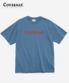 S/S AUTHENTIC LOGO TEE BLUE