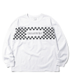 RACING L/SL Top White
