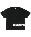 디스이즈네버댓(THISISNEVERTHAT) HSP Logo Tee Black