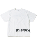 디스이즈네버댓(THISISNEVERTHAT) HSP Logo Tee White