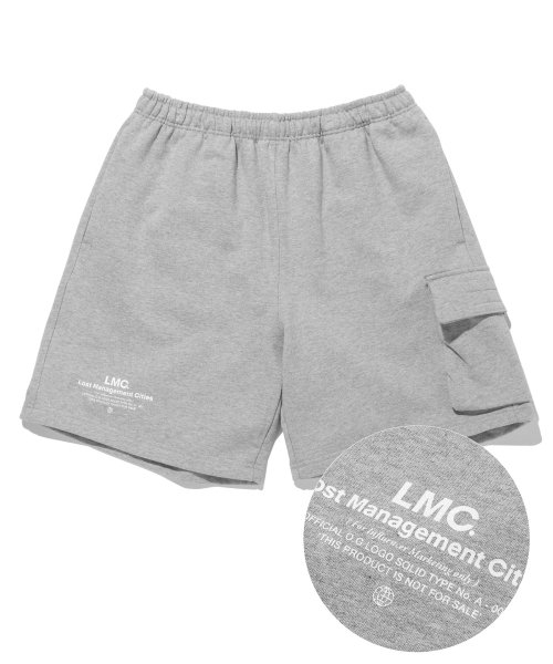 엘엠씨(LMC) LMC SIDE POCKET SWEAT SHORTS heather gray