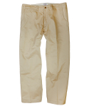 아웃스탠딩(OUTSTANDING) COTTON CHINO PANTS [BEIGE]