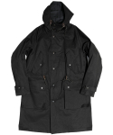 아웃스탠딩(OUTSTANDING) M47 HOODED PARKA [BLACK]