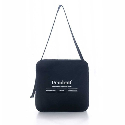 풀포(PULPO) Basic Logo Cross Ecobag - P002B_BK