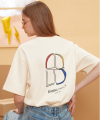 """B"" Window T-shirt (Cream)"