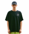 BIG OVAL LOGO TEE black