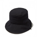 커스텀멜로우(CUSTOMELLOW) zipper bucket hat_CARAX19431BKX