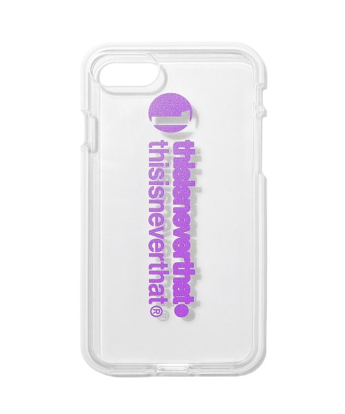디스이즈네버댓(THISISNEVERTHAT) 1-thisisneverthat iPhone Case 7&8  Purple