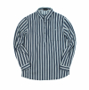 ALTERNATE STRIPE PULLOVER INDIGO
