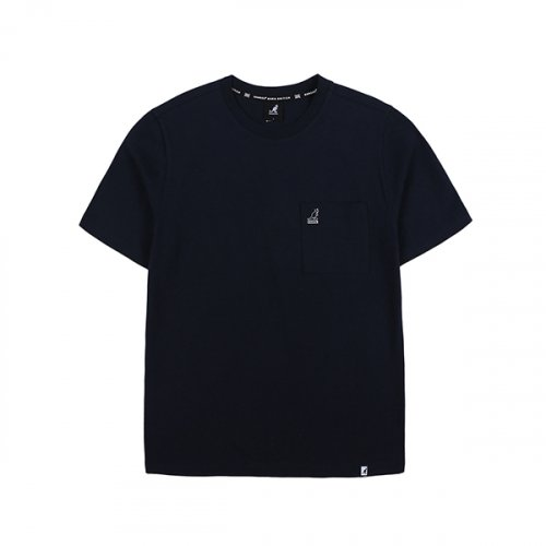 캉골(KANGOL) Basic Pocket T-Shirt 2585 NAVY
