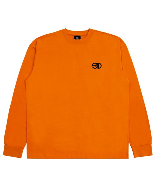노웨이브(NOWAVE) LOGO TEE - Orange