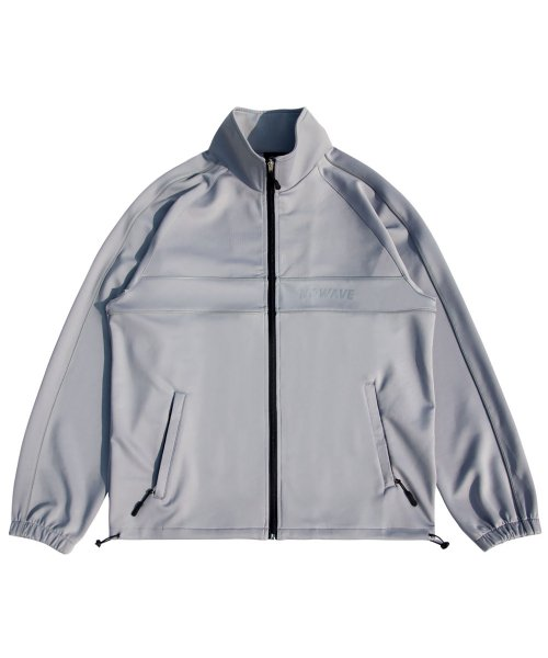 노웨이브(NOWAVE) SCOTCH LINE TRACK TOP - Gray