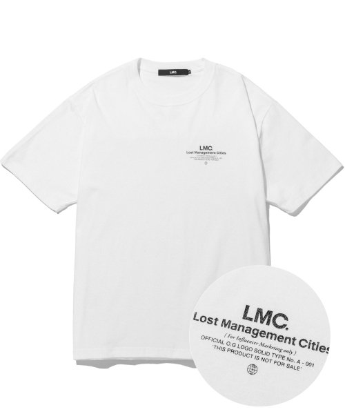 엘엠씨(LMC) LMC INFLUENCER TEE white