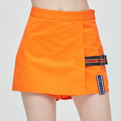 로맨틱크라운(ROMANTIC CROWN) GNAC Skirt Short_Orange